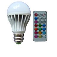 1pcs E26/E27/B22 10W 3X High Power LED Dimmable/Remote-Controlled/Decorative Globe Bulbs AC85-265V