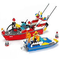 Action Figures & Stuffed Animals / Building Blocks For Gift  Building Blocks Model & Building Toy Ship ABS5 to 7 Years / 8 to 13 Years /