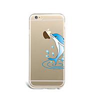 のために 超薄型 / パターン ケース バックカバー ケース Appleロゴアイデアデザイン ソフト TPU Apple iPhone 7プラス / iPhone 7 / iPhone 6s Plus/6 Plus / iPhone 6s/6 / iPhone SE/5s/5
