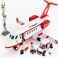 Action Figures & Stuffed Animals / Building Blocks For Gift  Building Blocks Model & Building Toy Aircraft / Car ABS5 to 7 Years / 8 to