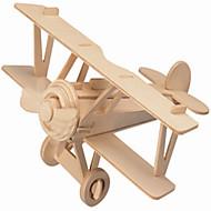 παζλ Ξύλινα παζλ Δομικά στοιχεία DIY παιχνίδια Αεροσκάφος / Σπίτι 1 Ξύλο Κρύσταλλο Μοντελισμός & Κατασκευές