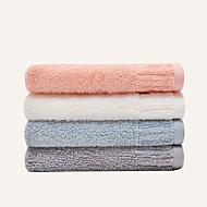 4pcs χέρι towelsolid υψηλής ποιότητας 100% βαμβάκι towe τυχαίο χρώμα