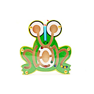 Educational Toy Maze & Sequential Puzzles Novelty Frog Wood