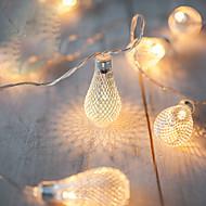2m λειτουργία μπαταρίας AA οδήγησε εγχόρδων οδήγησε φώτα εγχόρδων μέταλλο στάγδην χριστουγεννιάτικα φώτα navidad Luci nataleguirlande