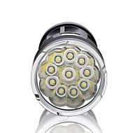 Verlichting LED-Zaklampen LED 3000 Lumens 3 Mode 18650 Dimbaar / Waterdicht / Super Light / Hoog vermogenKamperen/wandelen/grotten