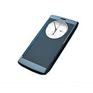 Voor LG hoesje met venster / Beplating hoesje Volledige behuizing hoesje Effen kleur Hard Acryl LG LG G4