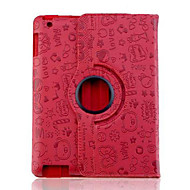 Lureme® Adorable Faerie Pattern PU Leather Case for iPad 2/3/4