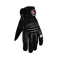 Ολόκληρο το Δάχτυλο Δερμάτινο Δέρμα Μοτοσικλέτες Γάντια
