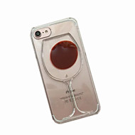 For Flydende væske Etui Bagcover Etui Tegneserie Blødt TPU for AppleiPhone 7 Plus / iPhone 7 / iPhone 6s Plus/6 Plus / iPhone 6s/6 /