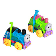 Wind-up Toy Novelty Toy Toys Novelty Train Plastic Rainbow For Boys For Girls Random Color