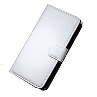 For Nokia etui Pung Kortholder Med stativ Etui Heldækkende Etui Helfarve Hårdt Kunstlæder for Nokia Nokia Lumia 1520