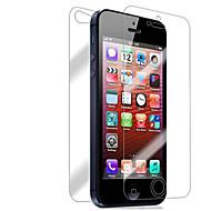 [10-Pack] edestä ja takaa Retina-näyttö suojelija iPhone 5/5S