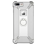 のために ケース カバー 耐衝撃 バンカーリング バックカバー ケース ソリッドカラー ハード メタル のために Apple iPhone 7プラス iPhone 7 iPhone 6s Plus iPhone 6 Plus iPhone 6s iphone 6
