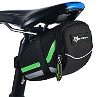 自転車用バッグ自転車用サドルバッグ 防水 防水ファスナー 耐衝撃性 耐久性 高通気性 ヘッドセット 自転車用バッグ ナイロン サイクリングバッグ キャンピング&ハイキング 乗馬 15*15*5