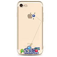 のために 超薄型 / パターン ケース バックカバー ケース ロック ソフト TPU のために Apple iPhone 7プラス / iPhone 7 / iPhone 6s Plus/6 Plus / iPhone 6s/6