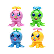 Wind-up Toy Novelty Toy Novelty Octopus Plastic Green Blue Pink Yellow For Boys For Girls Random Color