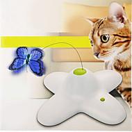 Cicajáték Játékok kisállatoknak Interaktív Ugratások Elektromos Pillangó
