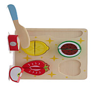 Pretend Play Novelty Square Wood Rainbow For Boys / For Girls