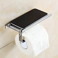 Toiletrolhouder,Modern Chroom Muurbevestiging