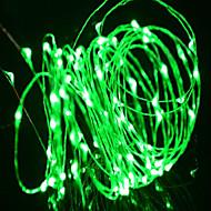 WENTOP 5 M 50 Warm Wit/Wit/Rood/Geel/Blauw/Groen/Paars/Roze/Willekeurige kleur Waterdicht 2 W Verlichtingsslingers DC12 V