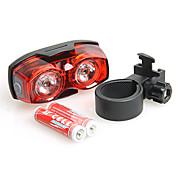 Luces para bicicleta Luz Trasera para Bicicleta - Ciclismo Regulable Empuñadura Anti Deslice Tamaño Pequeño Super Ligero AAA Lumens