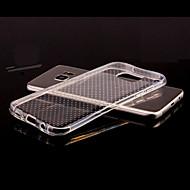 voor Samsung Galaxy s8 plus transparante reliëf Cover Case effen kleur TPU Samsung rand s7 s7 s6 s6 edge s8