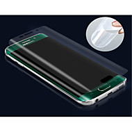 3d πλήρη κάλυψη TPU υψηλής ευκρίνειας αποτρέψει το μηδέν προστατευτικό οθόνης για την ακμή Samsung Galaxy S6