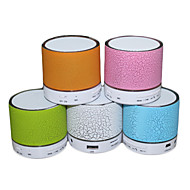 RGB LED MiNi Bluetooth Speaker Micro SD Mic USB AUX Portable Handfree for iPhone Samsung and Other Cellphone