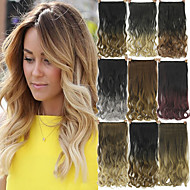 Human Hair Extensions Synthetic 120G 60CM Hair Extension