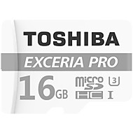 Toshiba 16GB マイクロSDカードTFカード メモリカード UHS-I U3 クラス10 EXCERIA PRO