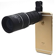16X52 mm Μονόφθαλμο Fogproof Γενικός Θήκη μεταφοράς Spotting Scope Γενική Χρήση Κυνήγι Κινητό τηλέφωνο BAK4 Multi-Stratificat 22Κεντρική
