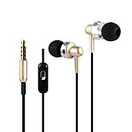 Nøytral Produkt HST-52 Øreplugg-hodetelefoner (i ørekanalen)ForMedie Avspiller/Tablett Mobiltelefon ComputerWithMed mikrofon DJ FM Radio
