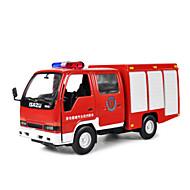 Camion militare Veicoli a molla Giocattoli Car 1:10 Metallo Rosso Modellino e gioco di costruzione