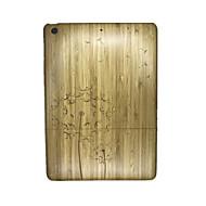 Mert Dombornyomott Case Hátlap Case Pitypang Kemény Fa mert Apple iPad Air