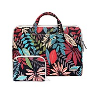 11.6 13.3 15.4 Inch Leaf Pattern Laptop Handbag Power Pouch for   Dell/Hp/Sony/Surface/Ausa/Acer/Samsun etc