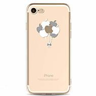 Til Mønster Etui Bakdeksel Etui Frukt Myk TPU til Apple iPhone 7 Plus iPhone 7 iPhone 6s Plus/6 Plus iPhone 6s/6 iPhone SE/5s/5