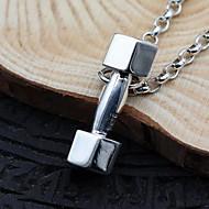 Heren Dames Hangertjes ketting Kettingen Kraag Sieraden Sterling zilver Enkele Draad Sieraden Basisontwerp Vintage Zilver SieradenFeest