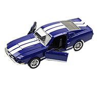 Voiture de Course Jouets Jouets de voiture 1:28 Métal Plastique Bleu Maquette & Jeu de Construction