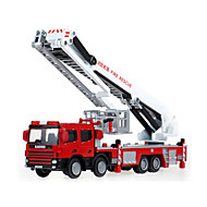 Fire Engine Vehicle Toys Car Toys 1:50 Metal ABS Plastic Red Model & Building Toy