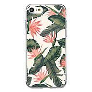 Varten Ultraohut Läpinäkyvä Kuvio Etui Takakuori Etui Kukka Pehmeä Kumi varten AppleiPhone 7 Plus iPhone 7 iPhone 6s Plus/6 Plus iPhone