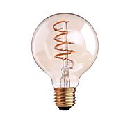 4W B22 E26/E27 LED-glödlampor G80 1 COB 400 LM Varmvit Dimbar AC 220-240 AC 110-130 V 1 st