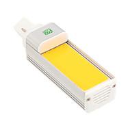 YWXLight® G24 COB 8W 600-700LM Cool White Warm White LED Corn Light Horizontal Plug Light (AC 85-265V)
