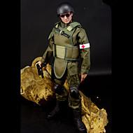 Display Model Model & Building Toy Warrior Polycarbonate Plastic Green
