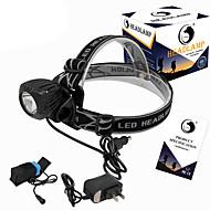 Stirnlampen LED 2000 Lumen 3 Modus Cree XM-L T6 18650 Kompakte GrößeCamping / Wandern / Erkundungen Für den täglichen Einsatz Radsport