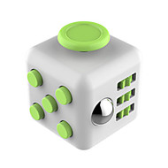 Brinquedos Cubo Macio de Velocidade Cube Fidget Novidades Alivia Estresse Cubos Mágicos Ciano Verde / Plástico