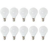 7W E14 E26/E27 LED gömbbúrás izzók G45 6 SMD 2835 680 lm Meleg fehér Hideg fehér Dekoratív AC 220-240 V 10 db.