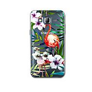 Για Εξαιρετικά λεπτή Με σχέδια tok Πίσω Κάλυμμα tok Λουλούδι Μαλακή TPU για Samsung J7 (2016) J5 (2016)