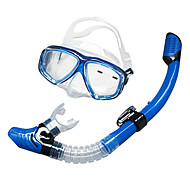 Schwimmbrille Schnorchelset Tauchmasken Schnorchel Sets Schnorchel Ventilschnorchel Tauchen und Schnorcheln Glas Silikon-SBART