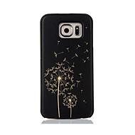 Varten Kuvio Etui Takakuori Etui Voikukka Kova Bambu varten Samsung S7 edge S7 S6 edge S6