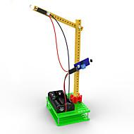 Toys For Boys Discovery Toys LED Lighting DIY KIT Forklift Plastic Green